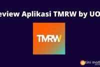 Aplikasi TMRW by UOB